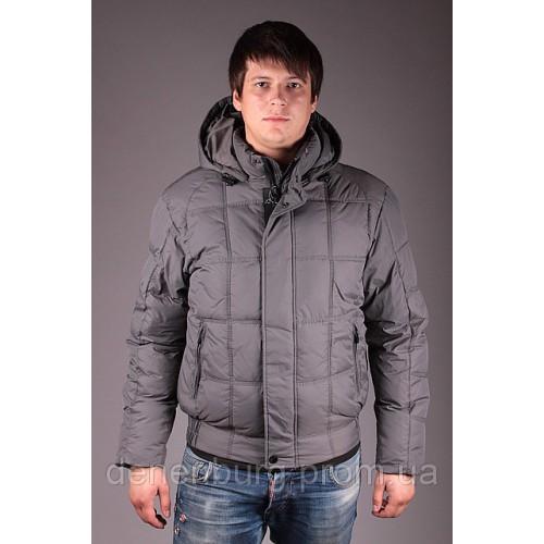 Куртка мужская зимняя VOYAGE 3121 тёмно-серая