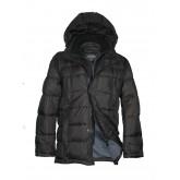 Куртка мужская зимняя VOYAGE 3227 чёрная, коричневая