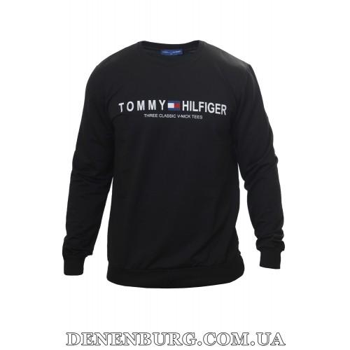 Лонгслив мужской TOMMY HILFIGER 3386B чёрный