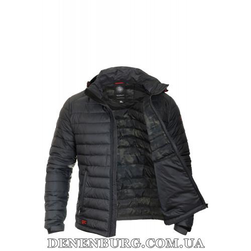 Куртка мужская демисезонная TIGER FORCE 50217 чёрная