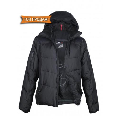 Куртка-пуховик мужская RLX JP 616 чёрная