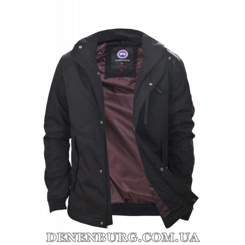 Куртка мужская демисезонная CANADA GOOSE 6515 чёрная