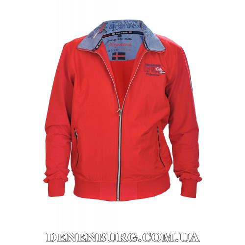 Костюм спортивный мужской PAUL & SHARK 6730 (B6730) красный