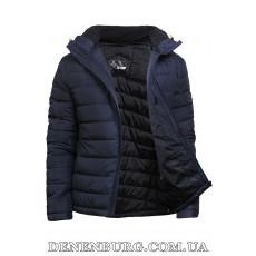 Куртка мужская демисезонная TIGER FORCE 70363 тёмно-синяя