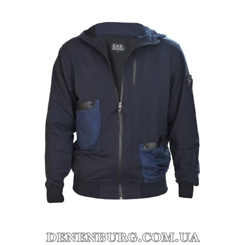 Костюм спортивный мужской STONE ISLAND 7202 тёмно-синий