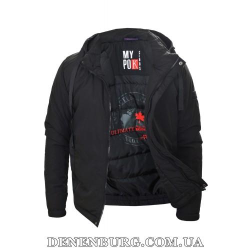 Куртка мужская демисезонная REMAIN 7734 (-1) чёрная
