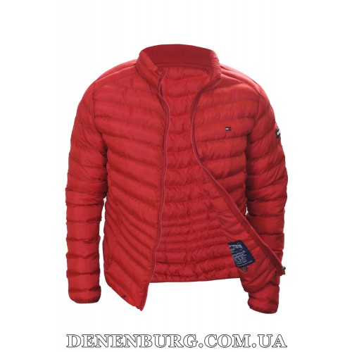 Куртка мужская демисезонная TOMMY HILFIGER 8006 красная