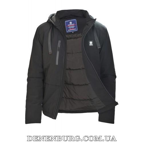 Куртка мужская демисезонная REMAIN 8287 чёрная