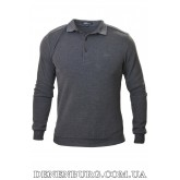 Свитер-поло мужской BRIONI 9440 тёмно-серый