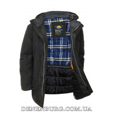 Куртка мужская зимняя BLACK VINYL C18-1326S16 (BC) тёмно-синяя