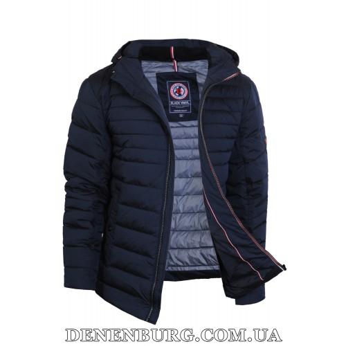 Куртка мужская зимняя BLACK VINYL C18-1331C тёмно-синяя