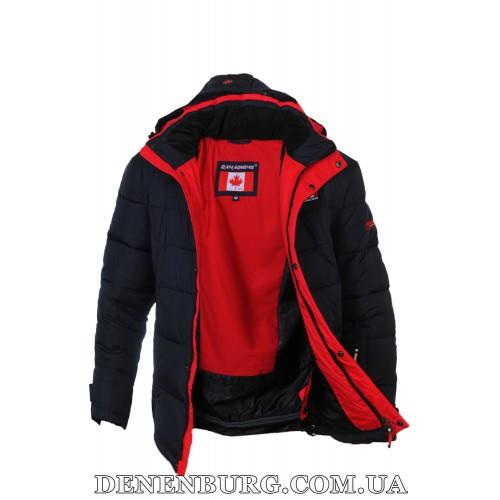Куртка мужская зимняя CANADIENS 20-CAN17-20 (BT) тёмно-синяя