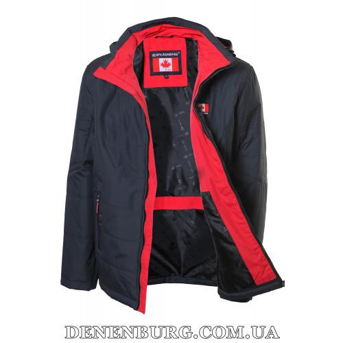 Куртка мужская демисезонная CANADIENS CAN58-23 (BT) тёмно-синяя
