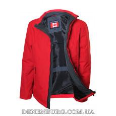 Куртка мужская демисезонная CANADIENS CAN58-23 (BT) красная
