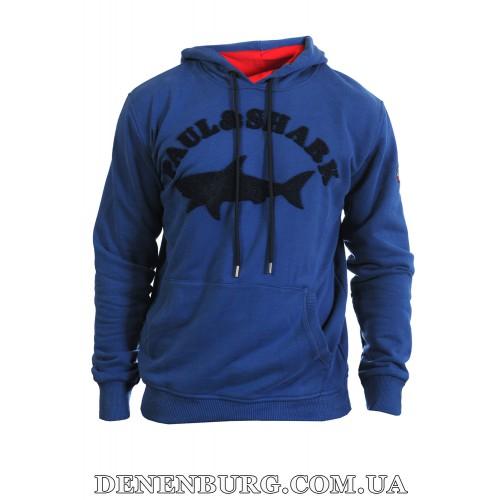 Толстовка мужская PAUL & SHARK K-7030 синяя