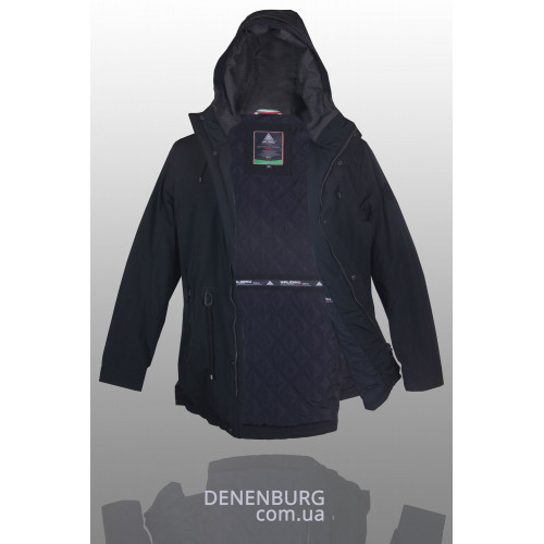 Куртка мужская демисезонная MALIDINU MC-17166 тёмно-синяя