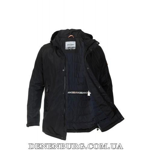 Куртка мужская демисезонная MALIDINU MC-18207 чёрная