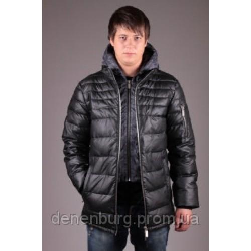 Куртка-пуховик мужская MALIDINU MK 12-160 чёрная