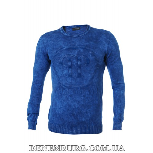 Свитер мужской PHILIPP PLEIN P1730 тёмно-синий
