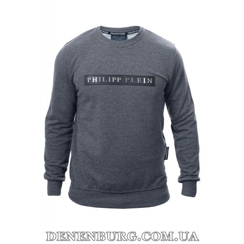 Свитшот мужской PHILIPP PLEIN P2412 серый