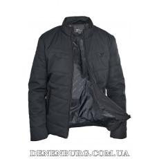 Куртка мужская демисезонная ARMANI S1806 чёрная