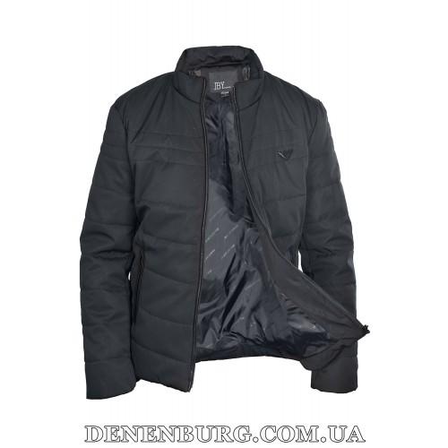 Куртка мужская демисезонная JINBOYA S1806 чёрная