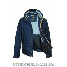 Куртка мужская демисезонная BLACK VINYL TC-17-906 синяя