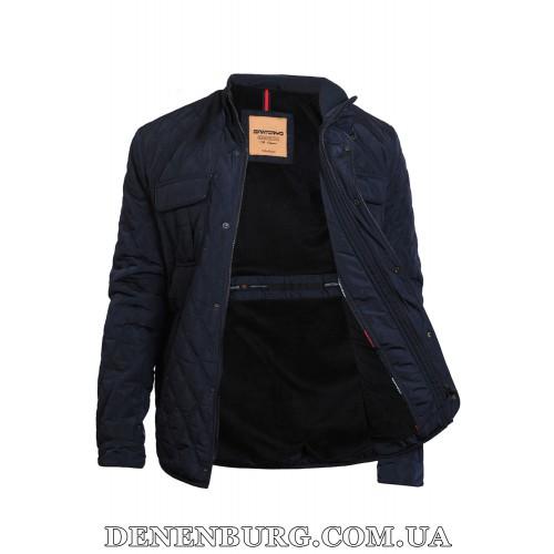 Куртка мужская еврозима SANTORYO WJ7586 (B) тёмно-синяя