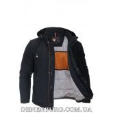 Куртка мужская демисезонная ZPJV ZC-278 тёмно-синяя