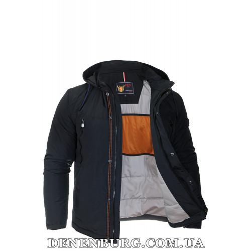Куртка мужская демисезонная ZPJV ZC-278 (ZCB-278) тёмно-синяя