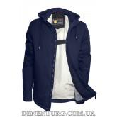 Куртка мужская демисезонная ZPJV ZC-290 тёмно-синяя