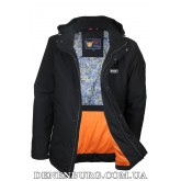 Куртка мужская демисезонная ZPJV ZC-330 чёрная