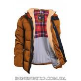Куртка мужская зимняя ZPJV ZD-578 горчичная