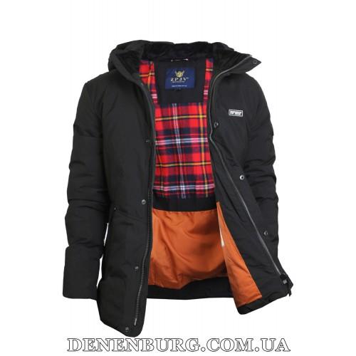 Куртка мужская зимняя ZPJV ZD-B330 чёрная