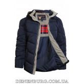 Куртка мужская зимняя ZPJV ZD-B660 тёмно-синяя