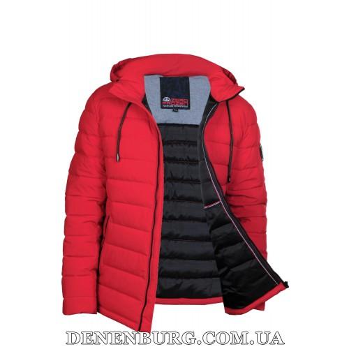 Куртка мужская еврозима ZERO FROZEN ZF70017 красная