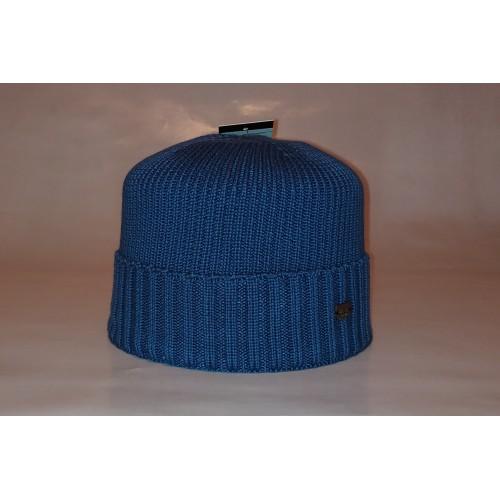 Шапка мужская DIESEL 19-9273 голубая