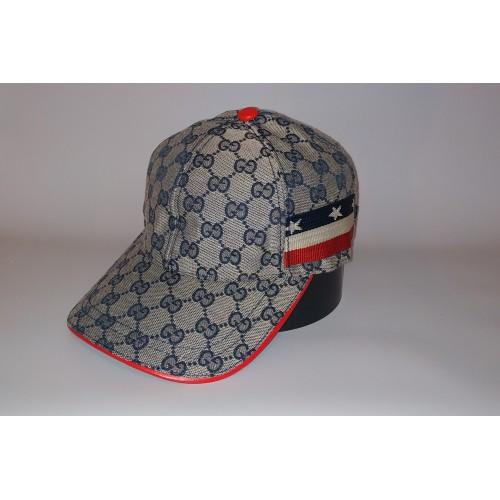 Бейсболка мужская GUCCI 20-4780 серая