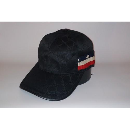 Бейсболка мужская GUCCI 20-4780 чёрная