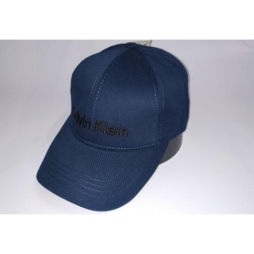 Бейсболка мужская CALVIN KLEIN 21-6600 синяя
