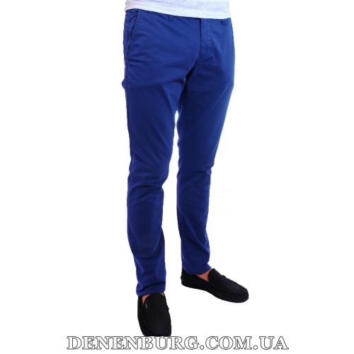 Брюки мужские FRANCO BENUSSI 16-172 тёмно-синие
