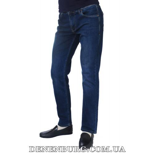 Джинсы мужские FRANCO BENUSSI 17-320 тёмно-синие