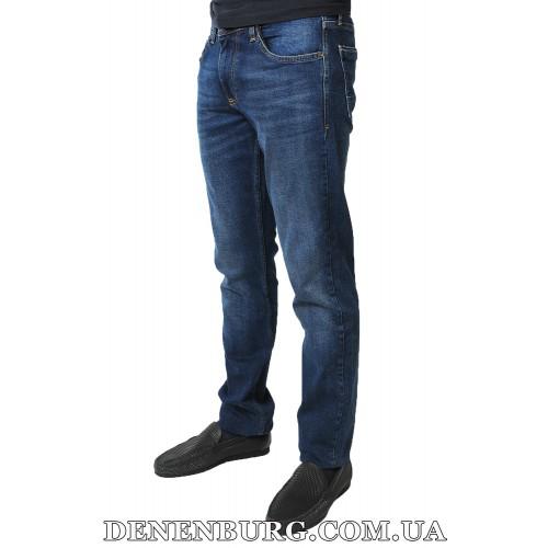 Джинсы мужские FRANCO BENUSSI 17-365 (B) тёмно-синие