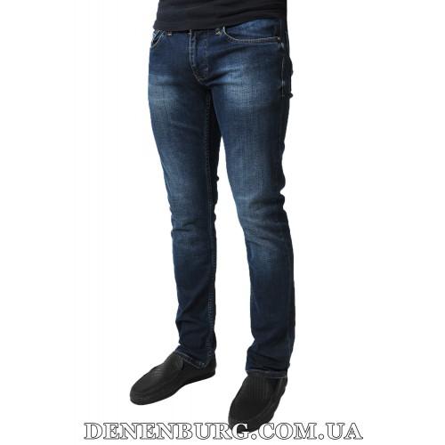 Джинсы мужские FRANCO BENUSSI 17-368 тёмно-синие