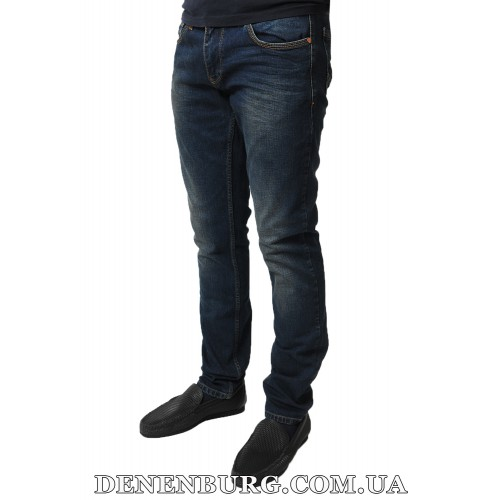 Джинсы мужские FRANCO BENUSSI 17-369 тёмно-синие