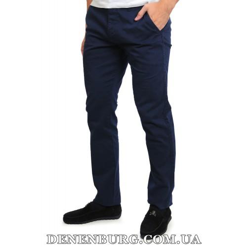 Брюки мужские MUZZO 17040 тёмно-синие