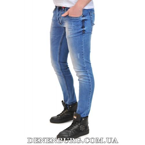 Джинсы мужские FRANCO BENUSSI 18-100 голубые