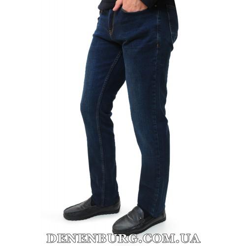 Джинсы мужские FRANCO BENUSSI 18-736 тёмно-синие