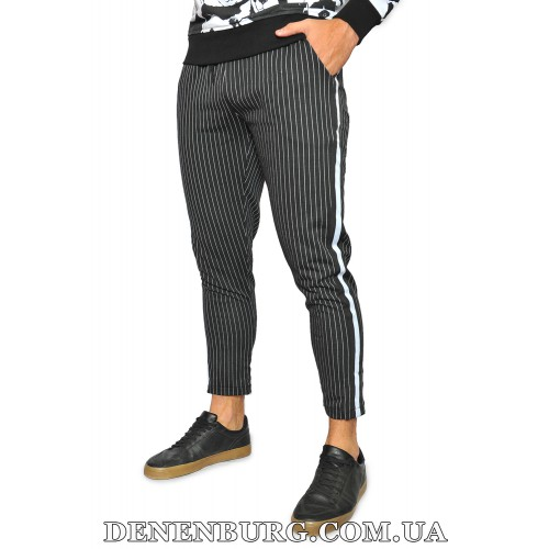 Штаны спортивные мужские LAGOS 19-19878 чёрные