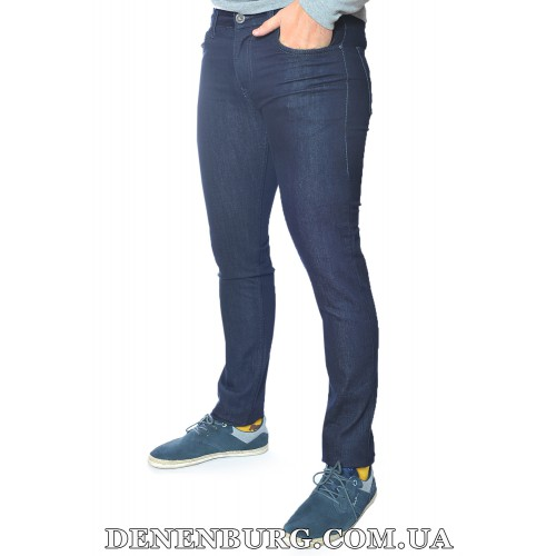 Джинсы мужские ARMANI 19-40275 тёмно-синие